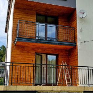 Balustrady dla domku jednorodzinnego
